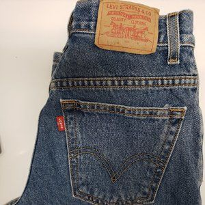 Levis 550 Classic Relaxed fit Tapered Jeans 6 MIS